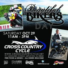 Beautiful Bikers Day on the East Coast - Oct 29, 2016