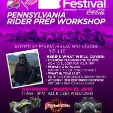 BGR to Essence Fest: Pennsylvania Rider Prep Workshop – March 31, 2018
