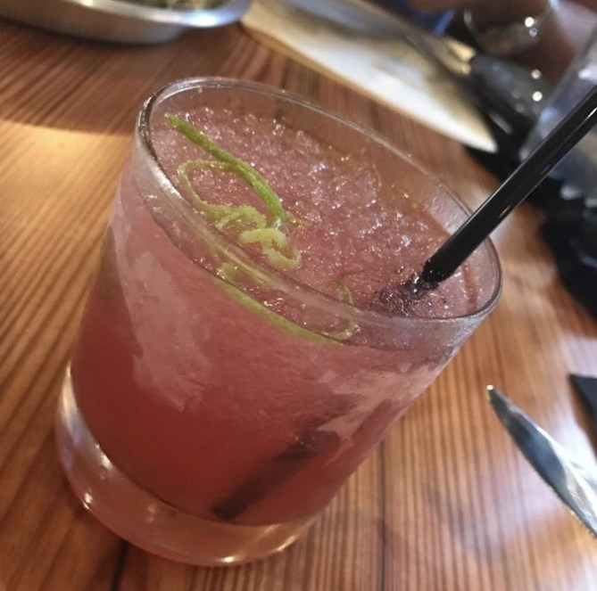 This cocktail had some kick!