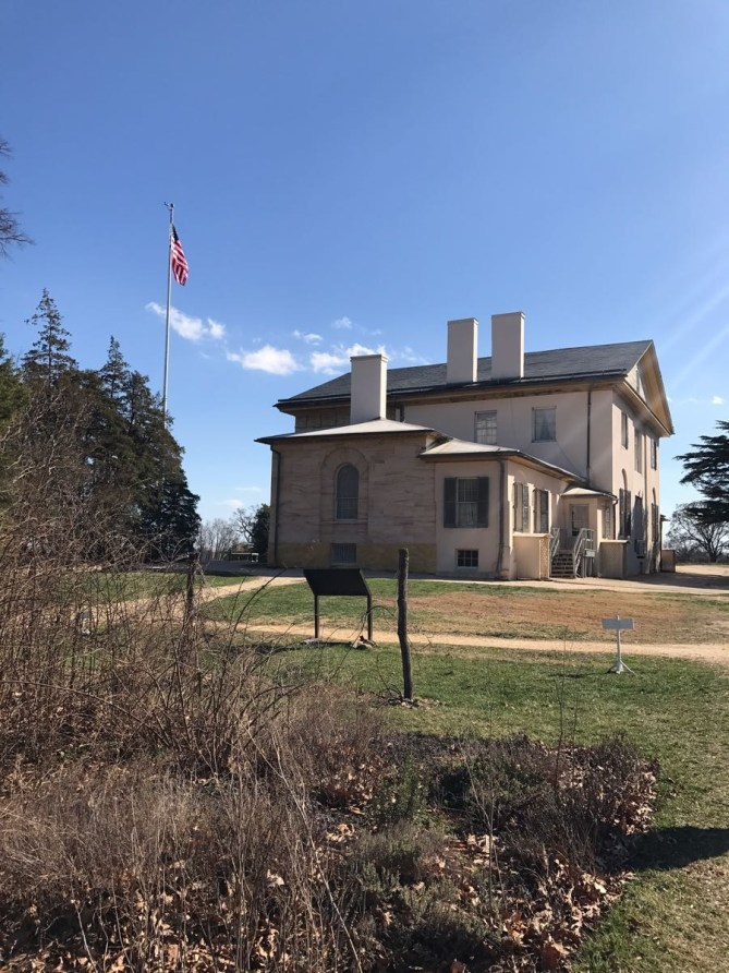 Arlington House. The home on the hill with views of D.C. and Virginia.