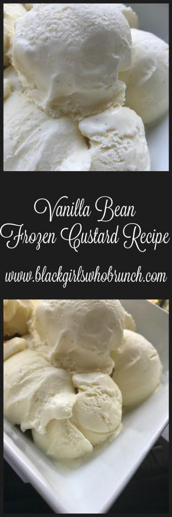 Vanilla Bean Frozen Custard Recipe
