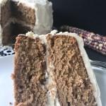 Sweet Potato Cake w: Cream Cheese Icing-4