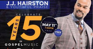 JJ Hairston & Youthful Praise - Live Recording May 11, 2016 In Hyattsville, MD
