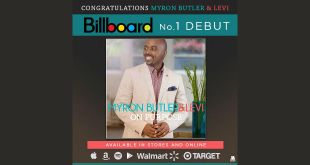 Myron Butler & Levi's 'On Purpose' Land At #1 On Billboard Gospel Albums Chart | @MyronButler