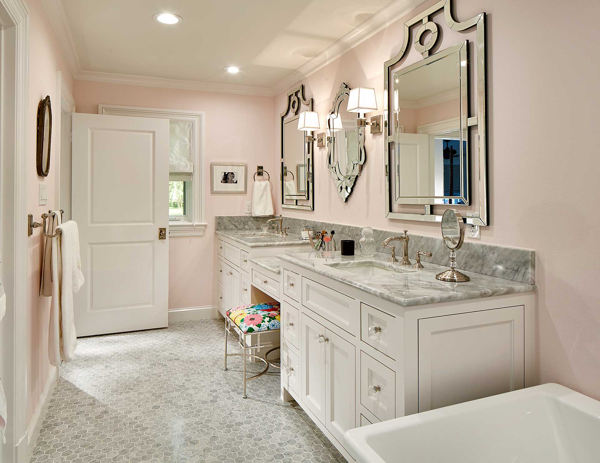 Preston Hollow Luxury Bathroom Renovation Blackline Renovations