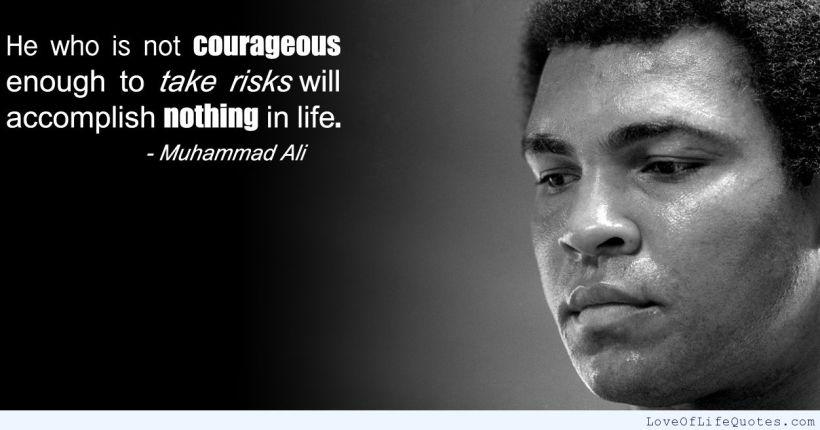 Muhammad Ali - Courage