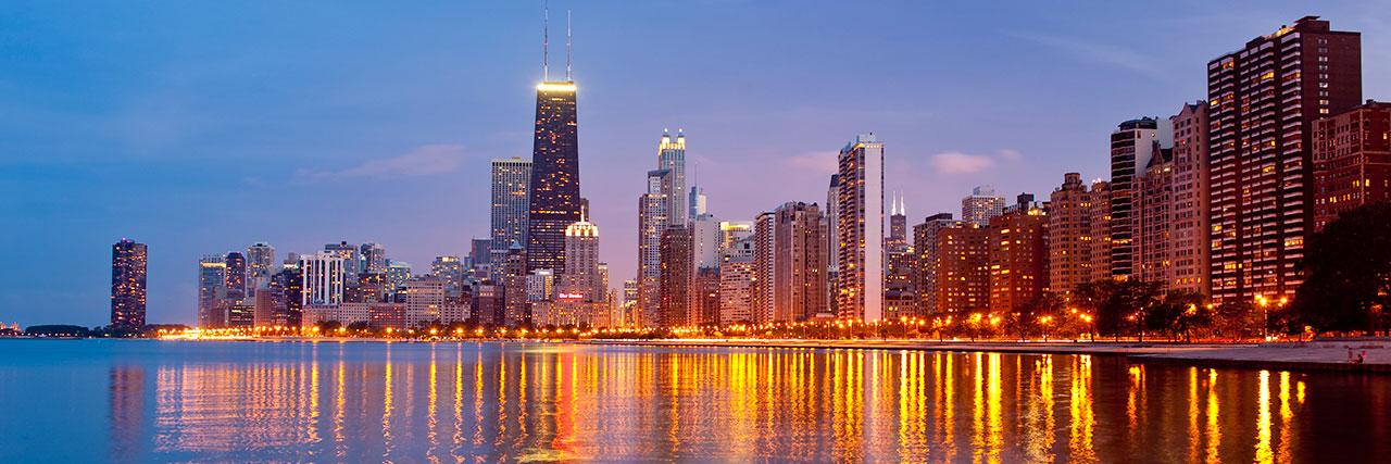chicago skyline linkedIn background - Blackmore Partners, Inc