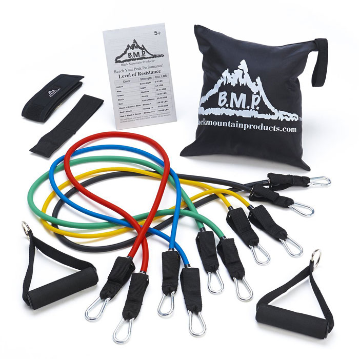 Stackable Resistance Band Set - Black Mountain Products