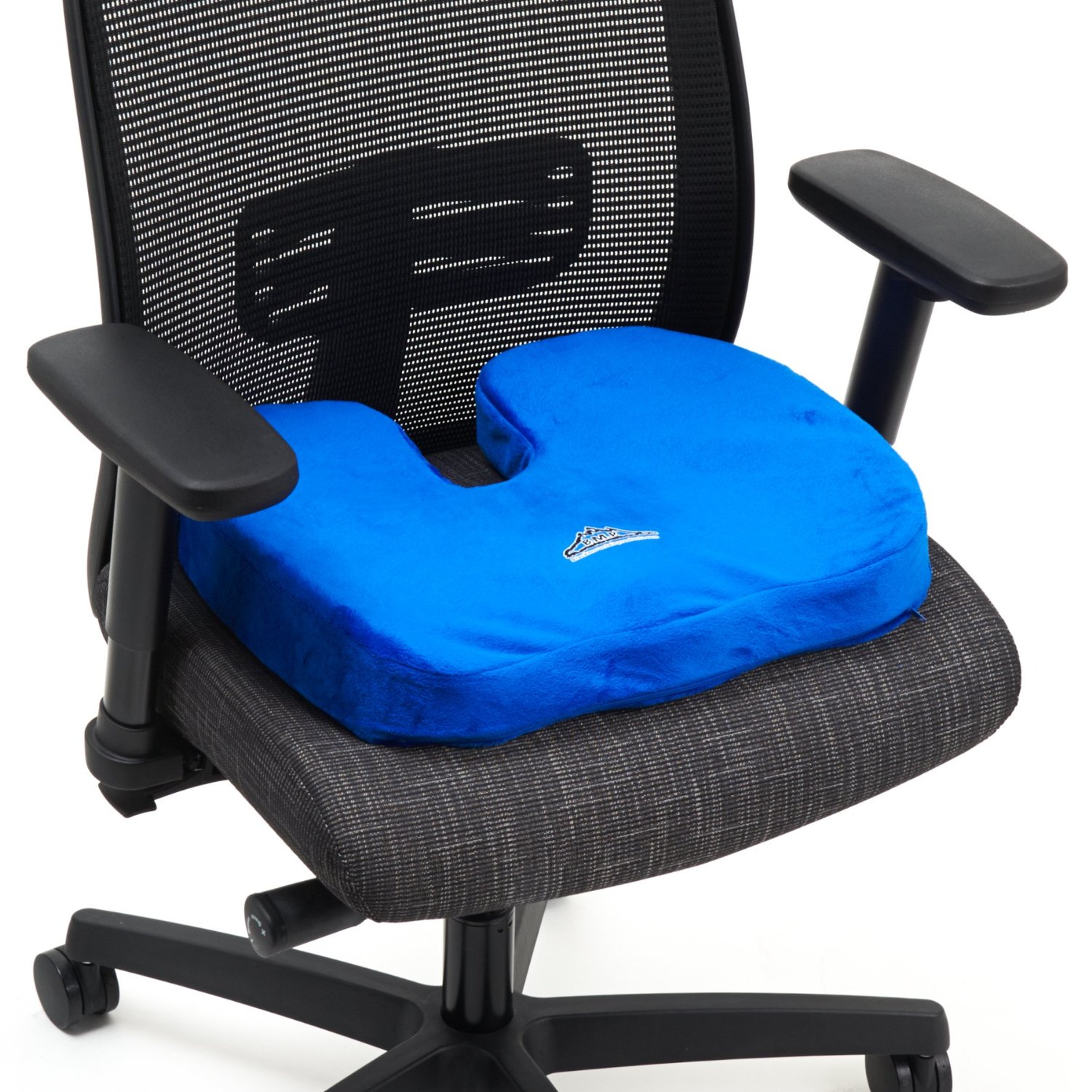 Cushion Chair Black Mountain Products Orthopedic Comfort Stadium Seat Cushion