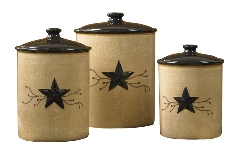 Rustic Utensil Crock Star Vine Dinnerware - Park Designs - Blackmountainquilts