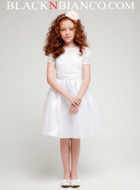 white dress for girls | BLACK N BIANCO Blog
