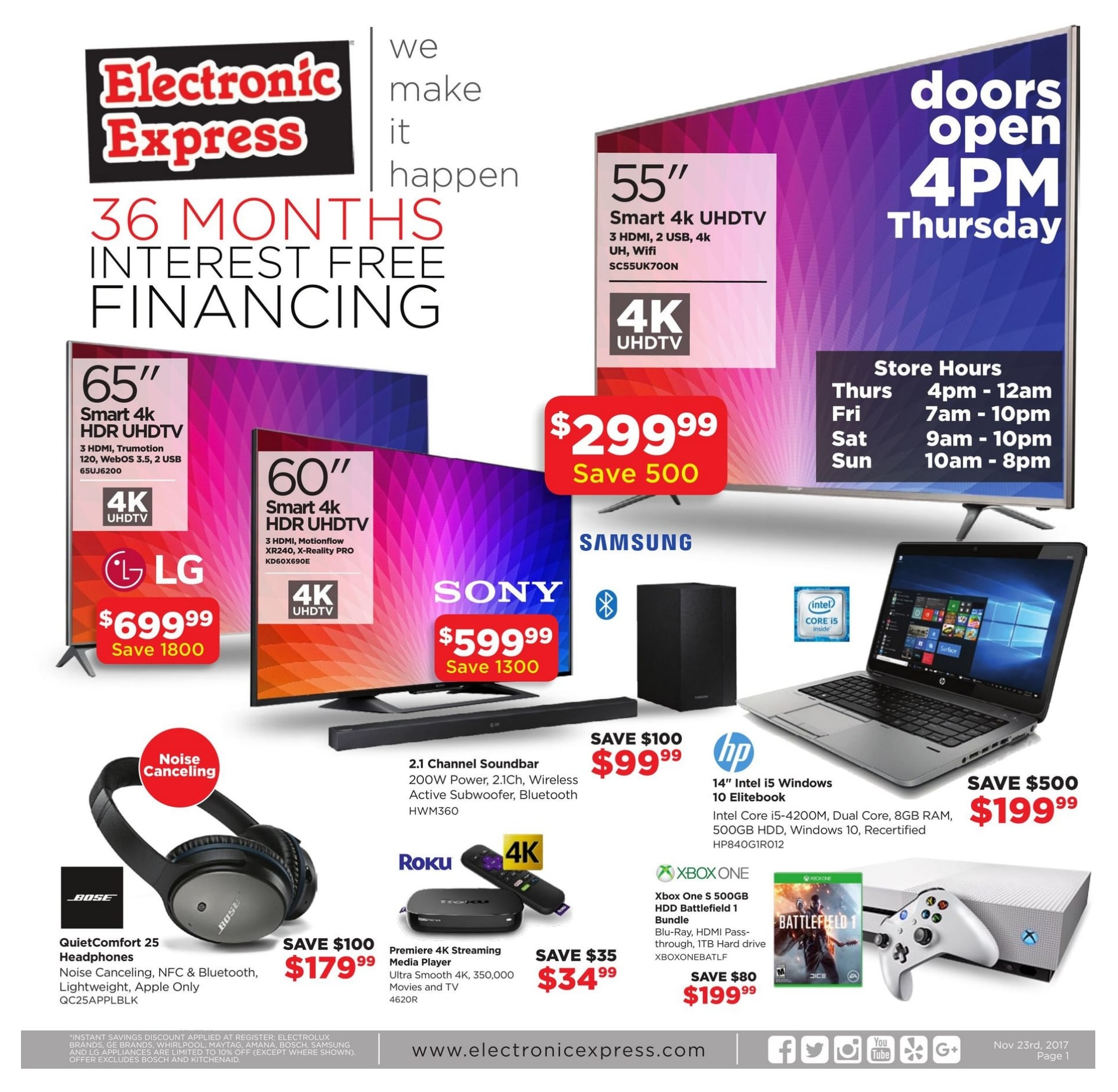 Www Black Friday Electronic Express Black Friday Ad 2017