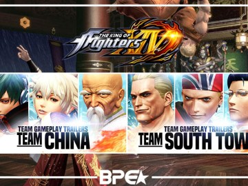 The King Of Fighter XIV - China Town & Team South
