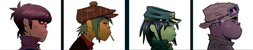 Gorillaz - Characters