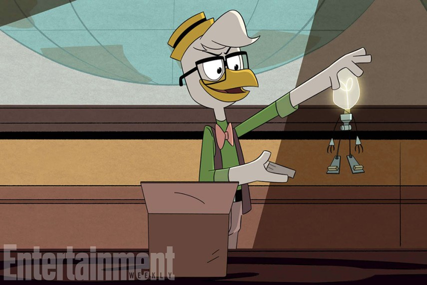"""DUCKTALES - """"The Great Dime Chase!"""" (Disney XD) GYRO GEARLOOSE"""