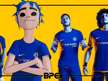 Chelsea x Gorillaz
