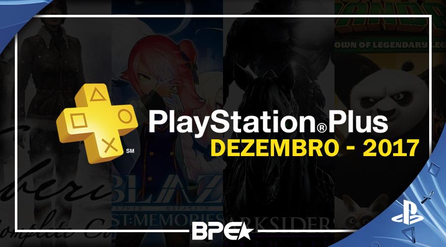 Dezembro - Playstation Plus
