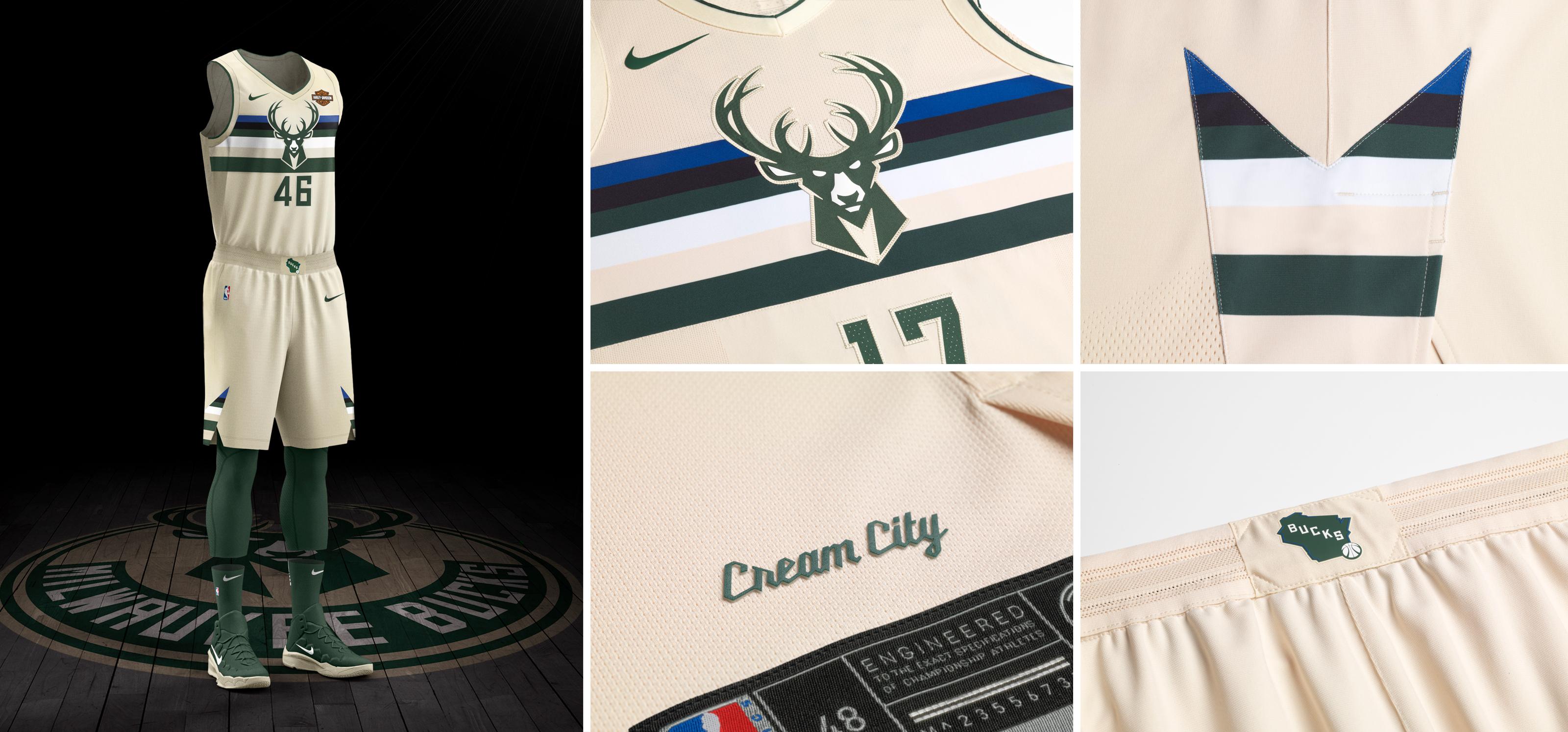 NBA e Nike - Milwaukee Bucks
