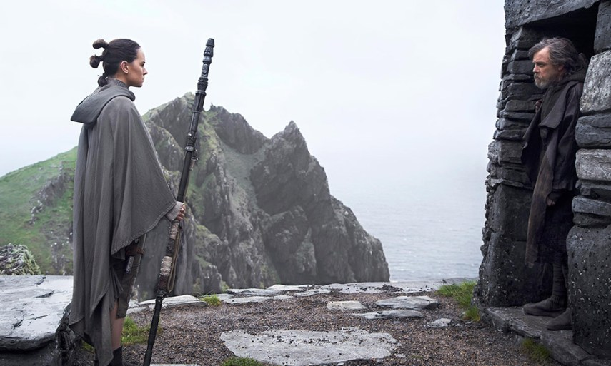 Ray & Luke Skywalker - Star Wars: Os Últimos Jedi