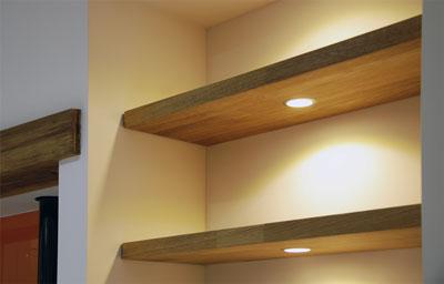 Handleless Grey Quartz Worktops And Solid Oak Detail Uckfield