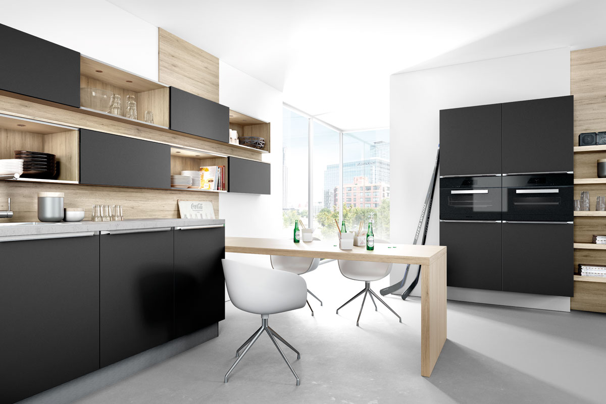 Decoration Interieur Design Pas Cher Ideas For Black Kitchens By Black Rok