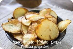 Vegan Junk Food – Making Vegan Potato Chips
