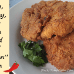 Crispy Spicy Popeye's Chicken Style Vegan Fried Chicken