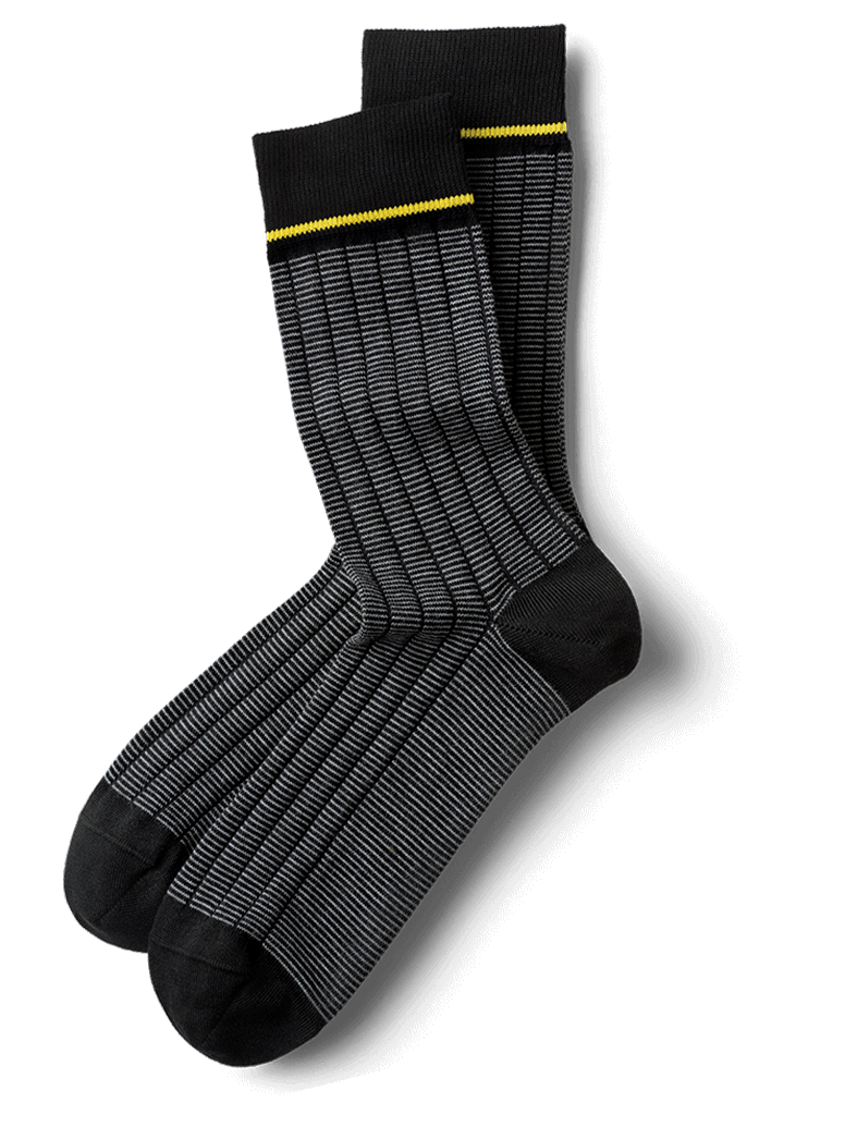 Elegant Schwarz Classy Calf Socks In Black Elegant And Extremely Durable