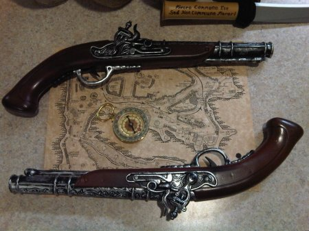 Pirate Pistol Belt