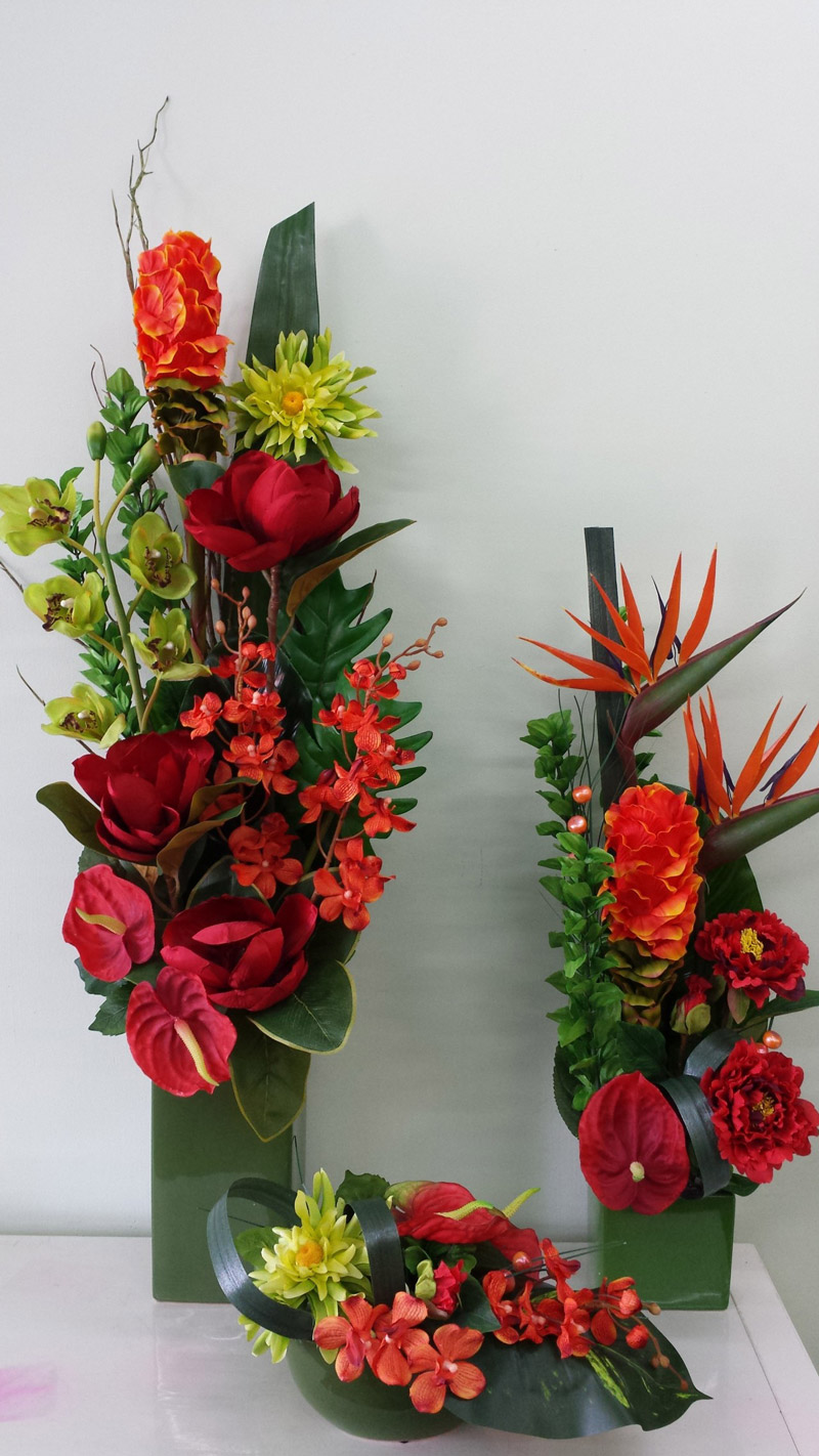 Tall Vases Artificial Flowers Online - Adelaide & Hills Delivery