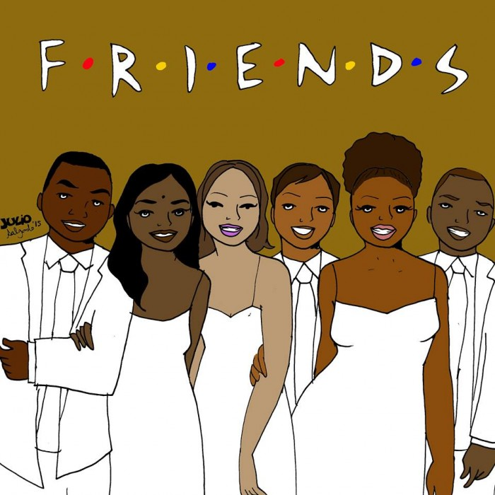 Julio Salgado's reboot of Friends with a diverse cast.