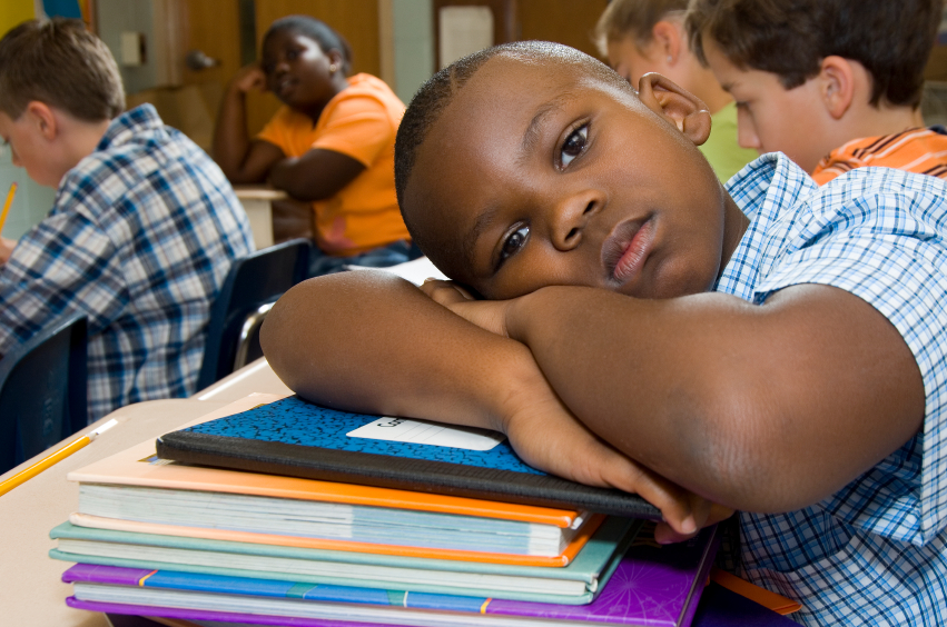 Black-child-teen-student-classroom