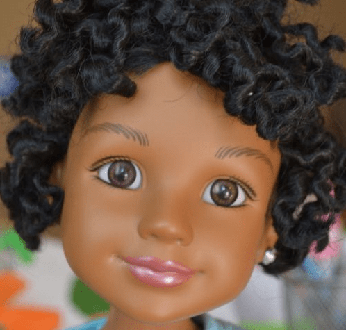 I didn't laugh at the video of white girls getting black dolls