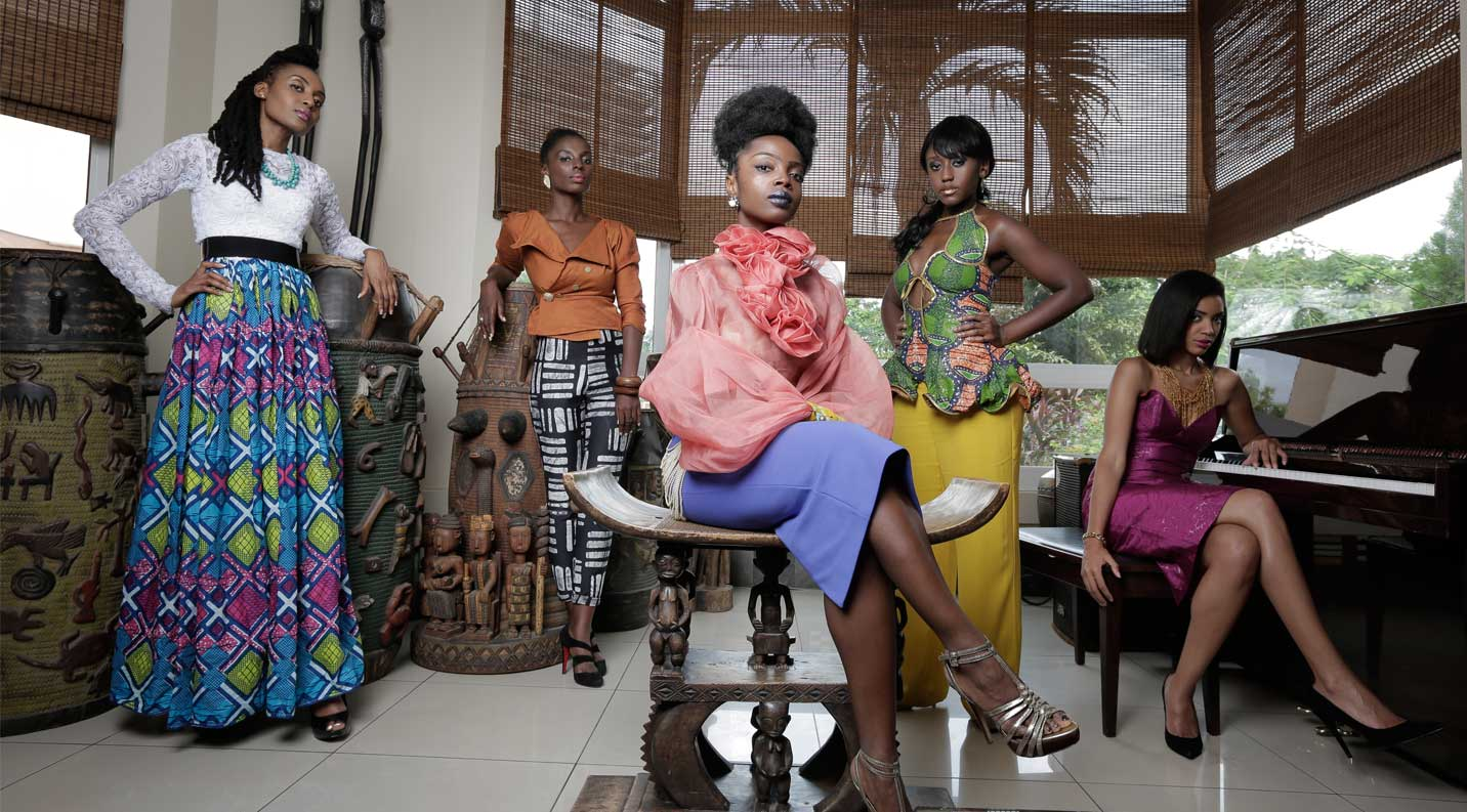 "Cast photo of ""An African City"" from anafricancity.tv"