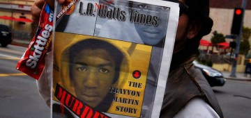 Trayvon Martin Rally