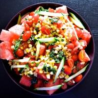 Watermelon in My Salad...