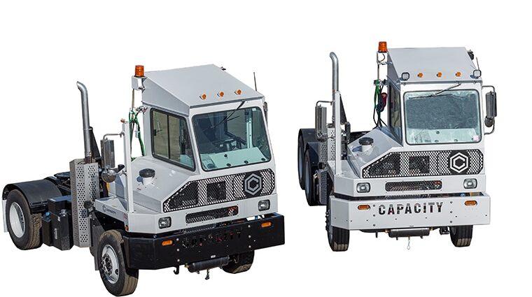 Capacity Yard Trucks, Spotter Trucks  Yard Jockeys - Blaine Brothers