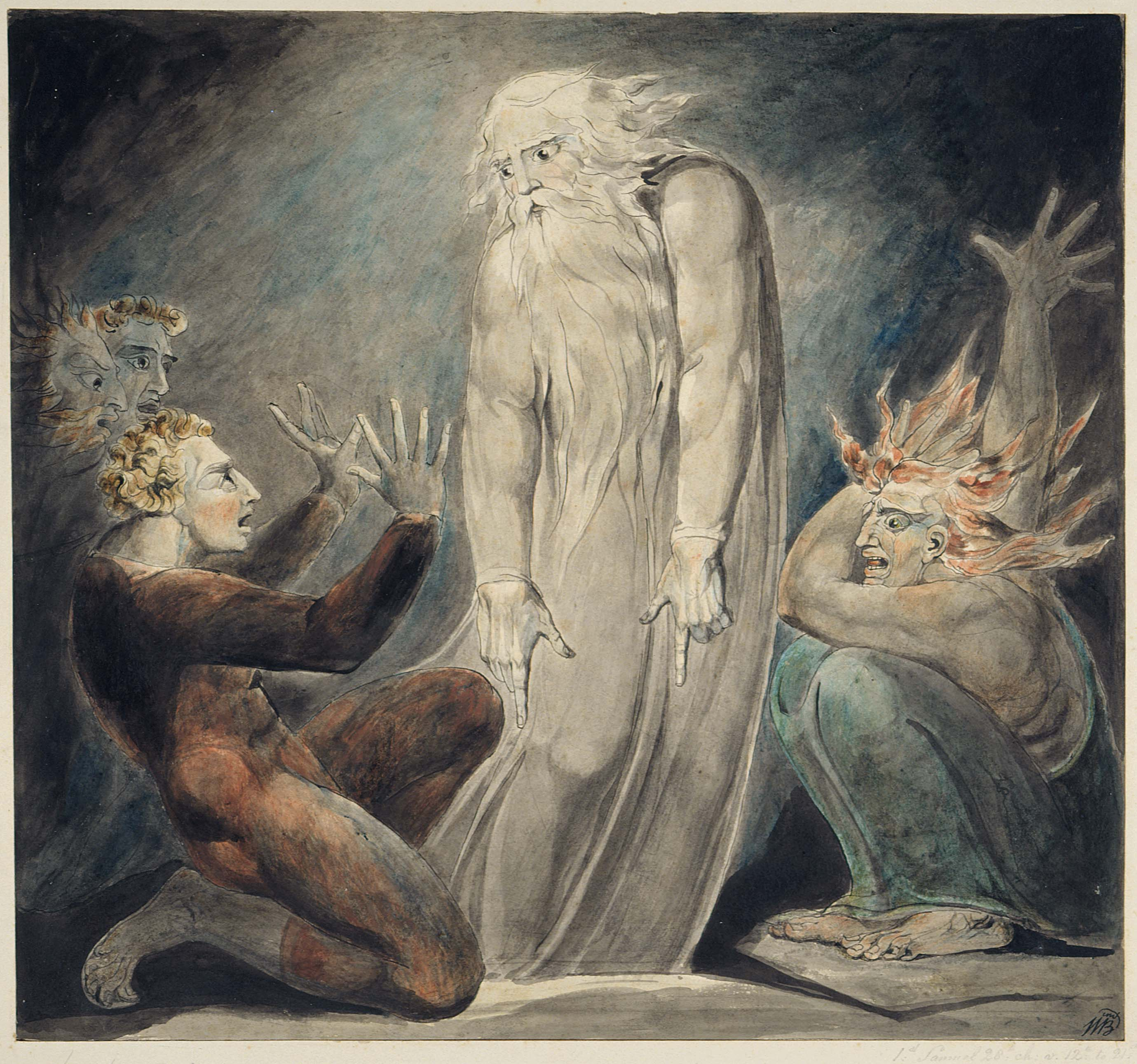 Wall Art Credence Martin Butlin The Paintings And Drawings Of William Blake