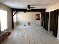 White Painted Hardwood Floors - Wood Floors
