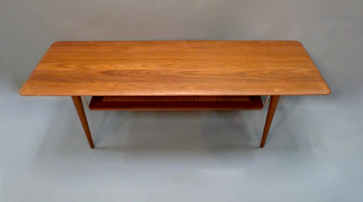 Teak Couchtisch Danish A Teak Coffee Table By Peter Hvidt France Sons Stock