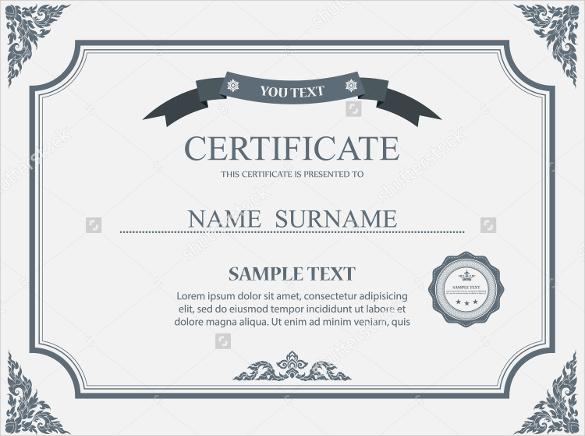 editable-word-doc-Blank-Vector-certificate-template - editable certificate templates