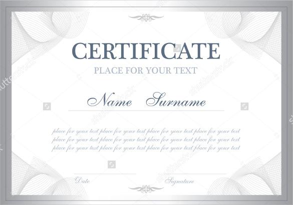 editable-word-doc-Simple-blank-Certificate-template - editable certificate templates