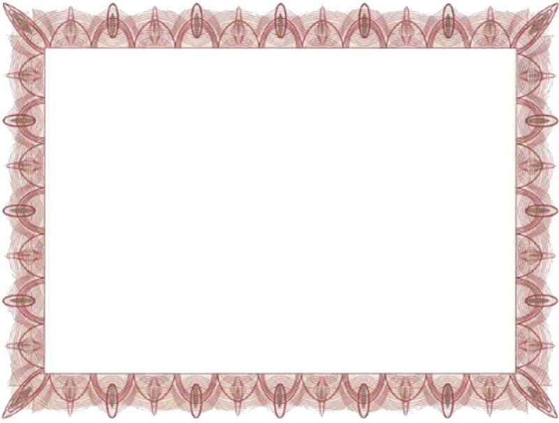 Blank Certificate Templates Blank Certificates - free blank certificate templates