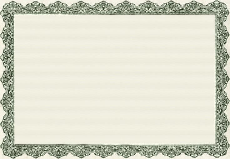 blank certificates with borders - Eczasolinf - Free Printable Certificate Border Templates