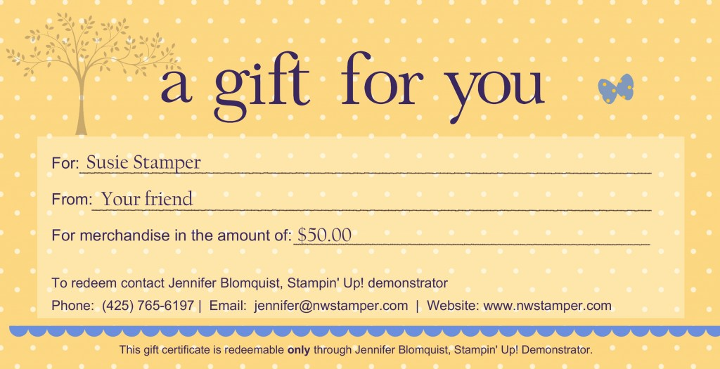 Sample Gift Card Sample Thank You Gift Card 38+Printable Gift - gift certificate template pages