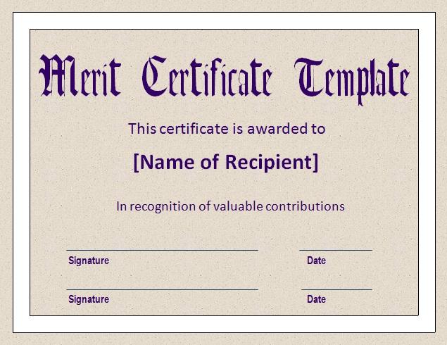 Real Estate Certificate Templates Blank Certificates