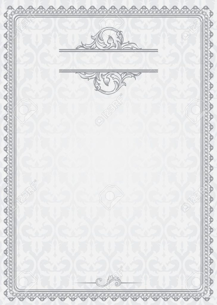 vintage certificate template - 28 images - vector vintage gift - blank certificates template