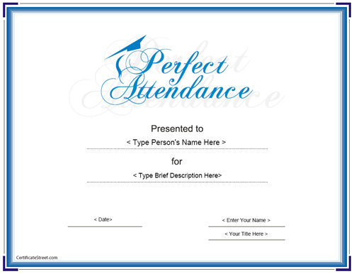perfect-printable-doc-file-Attendance-Certificate