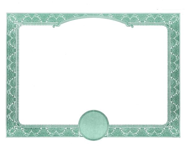 word-doc-Blank Stock Certificates Border