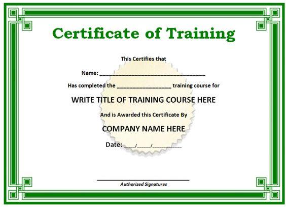 Blank Certificate Forms Templatebillybullock – Blank Certificate Forms